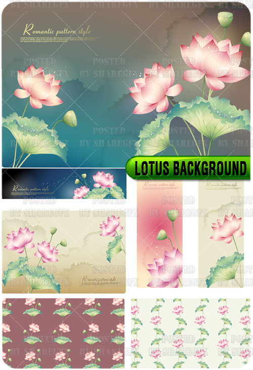 flower backgrounds for photoshop. Lotus Flower Background