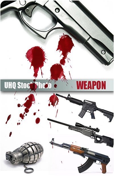 UHQ Stock Photo - Weapon